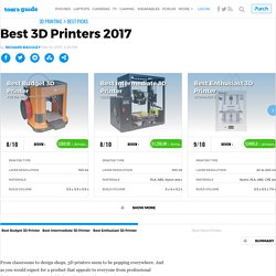 Best 3D Printer 2015 - Top-Rated 3D Printers