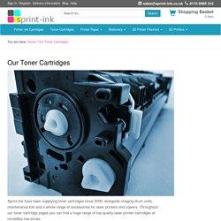Printer Toner Cartridges for Laser Printers