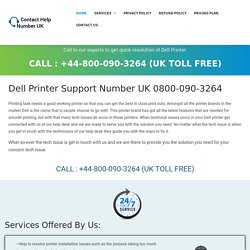 Dell Printer Contact Number 0808-238-7544