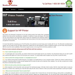 HP Printer Contact Phone Number 1-877-776-4348