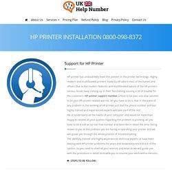 HP Printer Customer Service 0800-098-8372 HP Printer Helpline Number