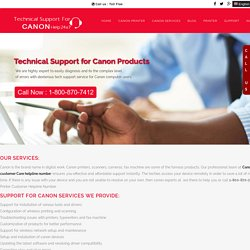Canon Printer Customer Helpline Number 1-800-723-4210