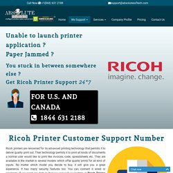 Ricoh Printer Customer Service Number