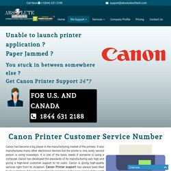 Canon Printer Customer Support Number {1844-631-2188} Canon Printer Help
