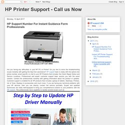 HP Support Number For Instant Guidance Form Professionals