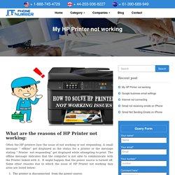 HP Printer Not Working