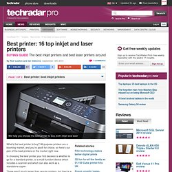 Best printer: our recommendations for inkjets and lasers