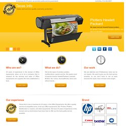 Printer Repair, Plotters Repair, Copier Repair, Printer Supply & Sales.