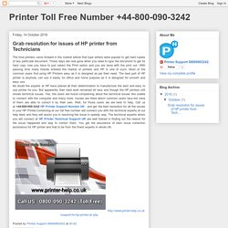 Printer Toll Free Number +44-800-090-3242: Grab resolution for issues of HP printer from Technicians