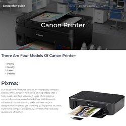 Canon Printer Setup -