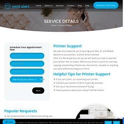 Printer Support South Florida