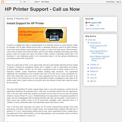 Instant Support for HP Printer – HP Support