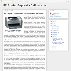 Find the Best Solution of Your HP Printer
