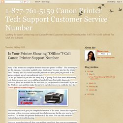 1-877-761-5159 Canon Printer Tech Support Number Toll-Free