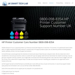 HP Printer Support UK 0800-098-8354 Customer Support Number