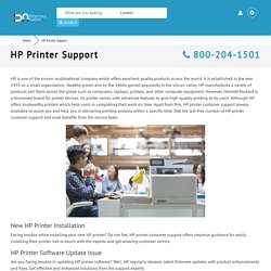 HP Printer Support 800-204-1501 Customer Service Toll-free Number