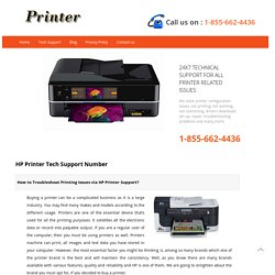 HP Printer Tech Support Number