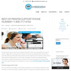 Best Hp Printer Support Phone Number +1-800-717-4164 – Hp Printer Support Phone Number 1-800-717-4164