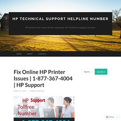 Fix Online HP Printer Issues