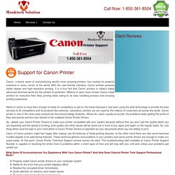 Get comprehensive support from certified technician via canon tecnical support number 1-806-576-2614
