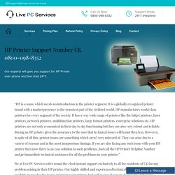 HP Printer UK +44-800-098-8352 Technical Support Number