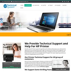 HP Printer Technical Support number +1-855-339-4563