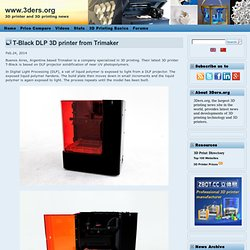 T-Black DLP 3D printer from Trimaker