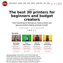 The best 3D printers for beginners and budget creators