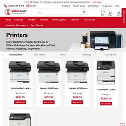 Buy Top Brand Printers for Home or Business - NerdsShop