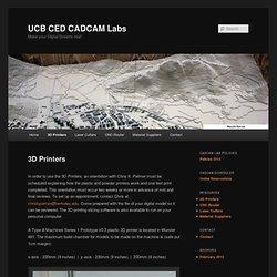 UCB CED CADCAM Labs