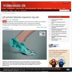 3D-printet løbesko reparerer sig selv