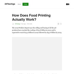 How Does Food Printing Actually Work?