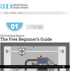 3D Basics impression: Le Guide du débutant gratuit - Impression 3D industrie