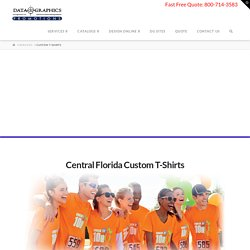 Affordable Custom T-Shirt Printing in Florida at Your Fingertips