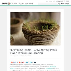 3D Printing Plants with printGREEN - THRE3D Blog