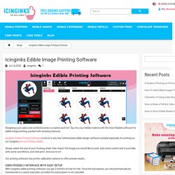 A Guide for Edible Image Printing Software