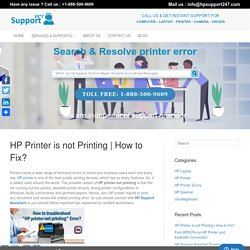 How to Fix? - HP Supports - Helpline Number