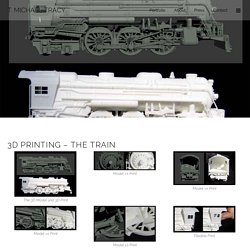 3D Printing - The Train - T. Michael Tracy