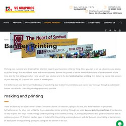 Best Online Banner Printing in Tricity