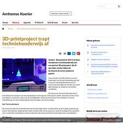Les in 3D printing: Is dit de toekomst? Gaat dit overal gebeuren?