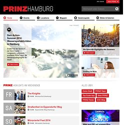prinz - Party, Konzerte, Kino, Kultur - Cityguide: Restaurants, Bars, Clubs, Shopping - Prinz