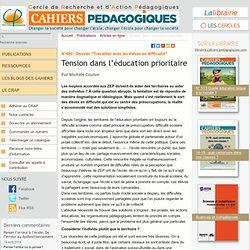 Tension dans l'éducation prioritaire