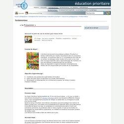 éducation prioritaire - « le Présentoir »