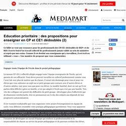 Education prioritaire : des propositions pour enseigner en CP et CE1 dédoublés (2)