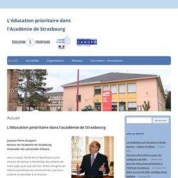 L'éducation prioritaire dans l'Académie de Strasbourg