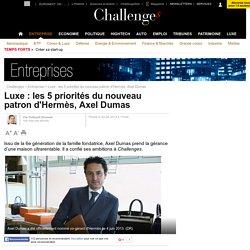 Luxe : les 5 priorités du nouveau patron d'Hermès, Axel Dumas - 4 juin 2013