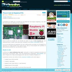Prise en main du Raspberry Pi B+