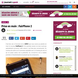 Prise en main : FairPhone 2