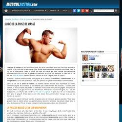 Prise de masse musculation
