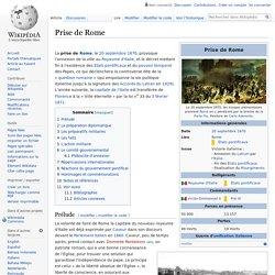 Prise de Rome